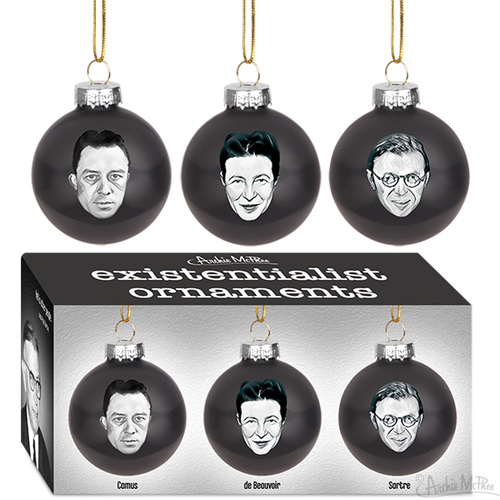 Archie McPhee ORNAMENTS EXISTENTIALIST (3)