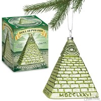 ORNAMENT DOLLAR PYRAMID