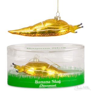 Archie McPhee ORNAMENT BANANA SLUG