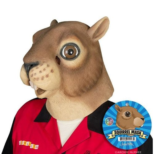 Archie McPhee MASK SQUIRREL HEAD