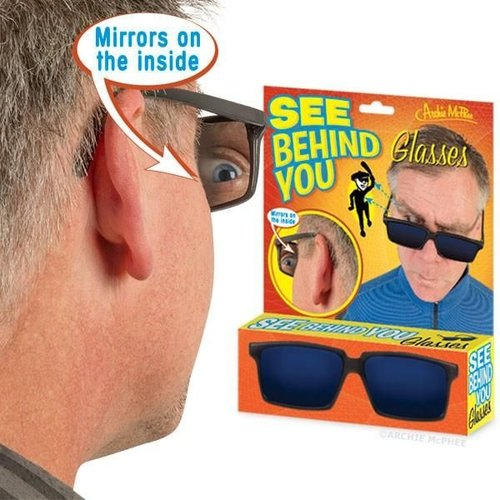 Archie McPhee GLASSES SEE BEHIND YOU