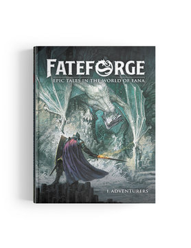 Agate Editions FATEFORGE: ADVENTURERS CORE BOOK WITH MINI