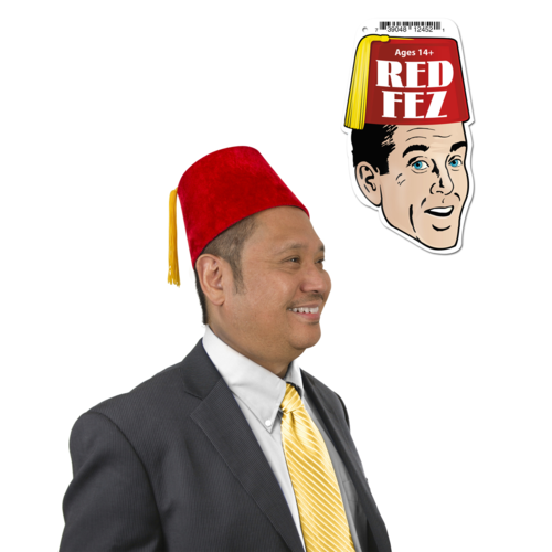 Archie McPhee RED FEZ