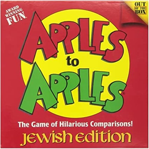 JEWISH EDUCATIONAL TOYS APPLES TO APPLES JEWISH