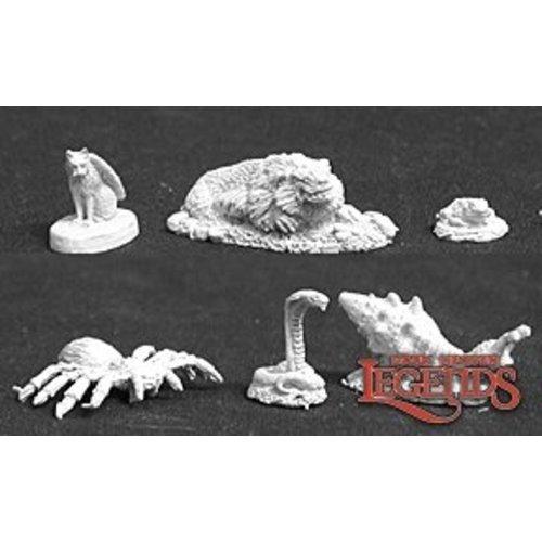Reaper Miniatures FAMILIARS PACK 3