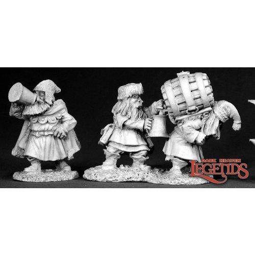 Reaper Miniatures DWARVEN BREWMEISTER & PATRON