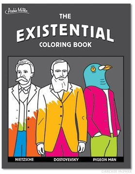 ACCOUTREMENTS EXISTENTIAL COLORING BOOK