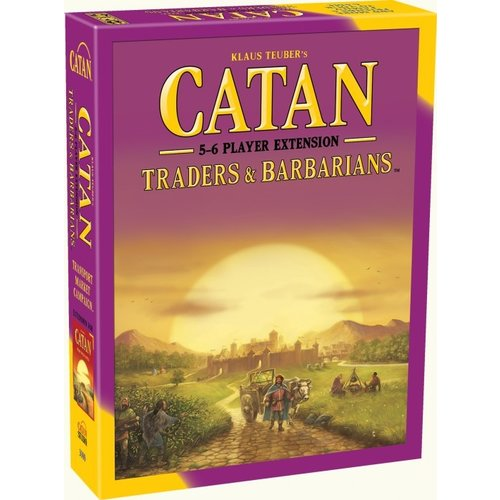 Catan Studios CATAN: TRADERS & BARBARIANS 5-6 PLAYER EXTENSION