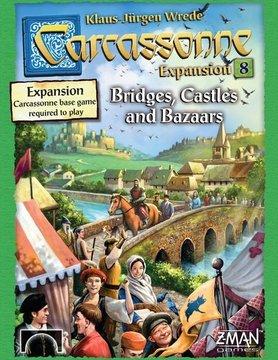 Z-Man Games CARCASSONNE: BRIDGES, CASTLES, & BAZAARS
