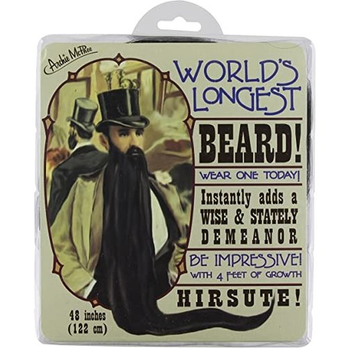 ACCOUTREMENTS BEARD WORLD'S LONGEST