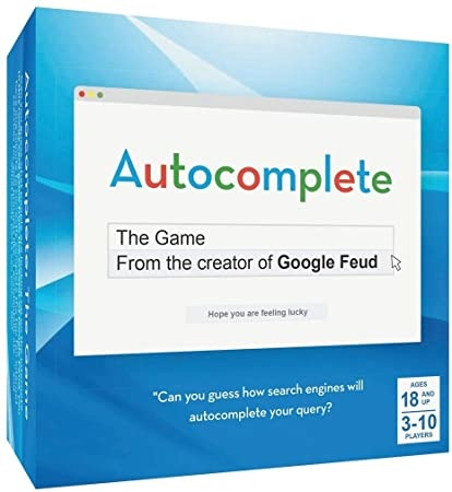 HACHETTE/CHRONICLE/MUDPUPPY AUTOCOMPLETE: THE GAME