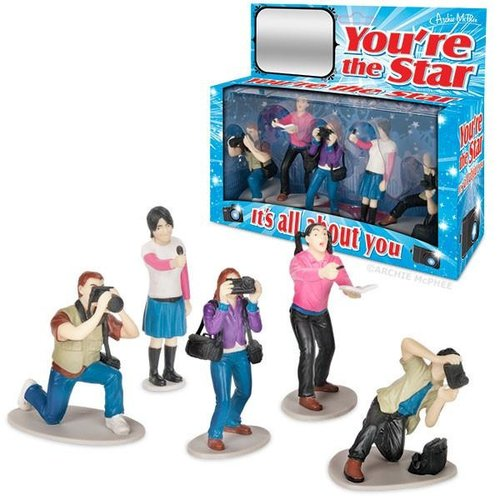 Archie McPhee ACTION FIGURES YOU'RE THE STAR