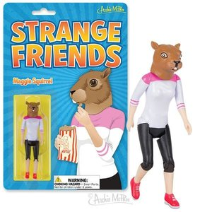 Archie McPhee ACTION FIGURE MAGGIE SQUIRREL