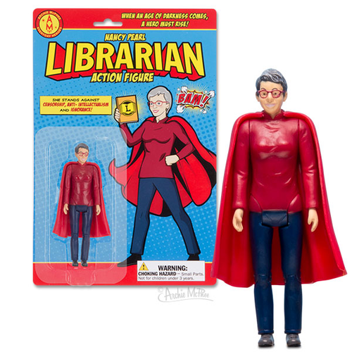 Archie McPhee ACTION FIGURE LIBRARIAN