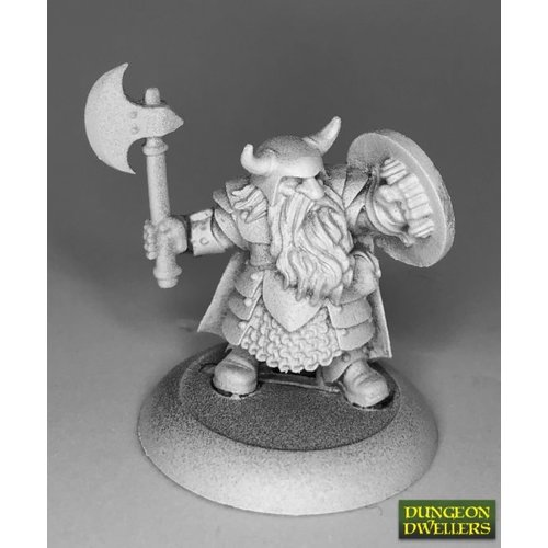 Reaper Miniatures DUNGEON DWELLERS: BORIN IRONBROW, DWARF ADVENTURER