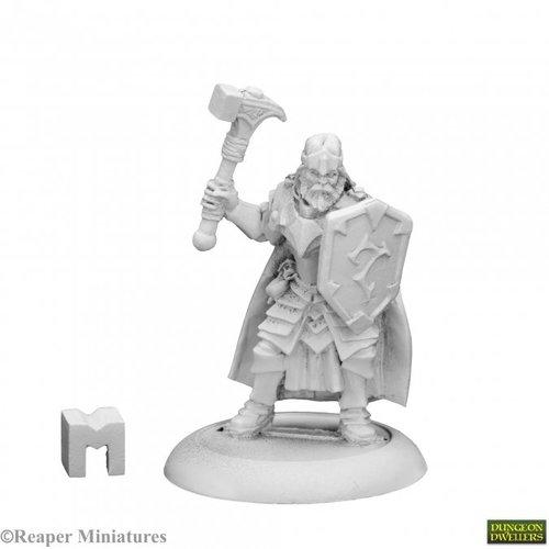 Reaper Miniatures DUNGEON DWELLERS: BALZADOR, CLERIC