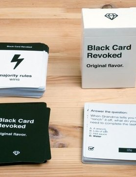 ZZCARDS FOR ALL PEOPLE BLACK CARD REVOKED