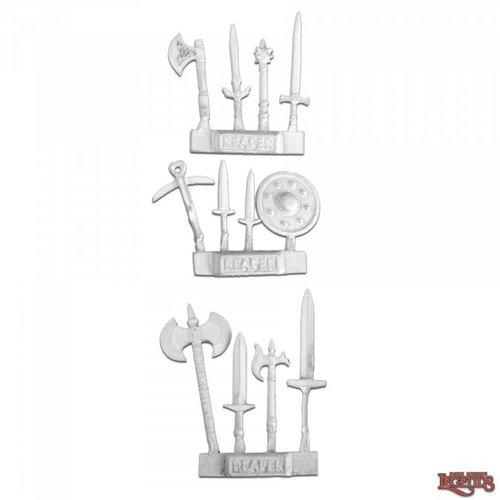 Reaper Miniatures DARK HEAVEN LEGENDS: WEAPONS PACK 3 (12)