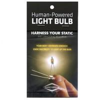 HUMAN POWERED LIGHT BULB