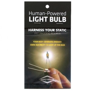 COPERNICUS TOYS HUMAN POWERED LIGHT BULB