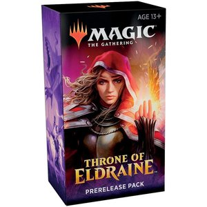 Wizards of the Coast MTG THRONE OF ELDRAINE PRERELEASE KIT