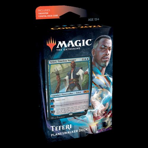 Wizards of the Coast MTG: CORE 2021 - PLANESWALKER TEFERI DECK