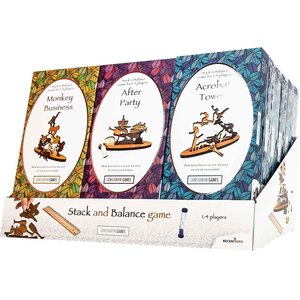 PROJECT GENIUS (RECENT TOYS) STACK & BALANCE GAMES ASSORTMENT