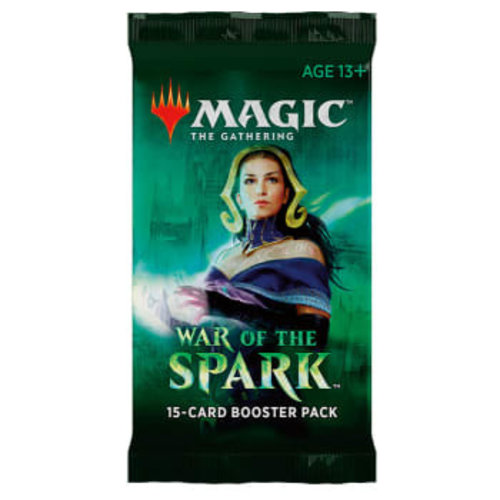 Wizards of the Coast MTG: WAR OF THE SPARK - BOOSTER