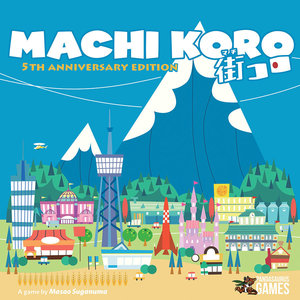 Pandasaurus Games MACHI KORO: 5TH ANNIVERSARY EDITION