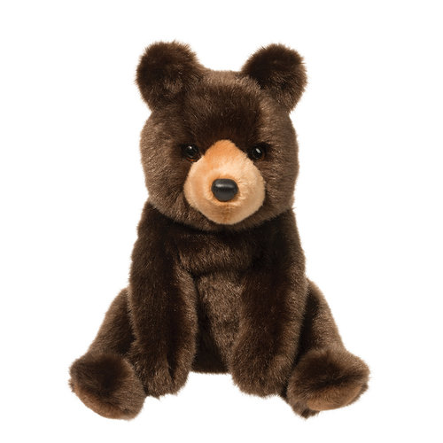 Douglas Cuddle Toys CAL BROWN BEAR 10""
