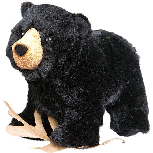 "Douglas Cuddle Toys MORLEY BLACK BEAR 8"""