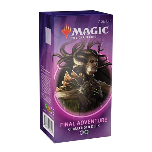 Wizards of the Coast MTG: CHALLENGER 2020 - FINAL ADVENTURE - BLACK