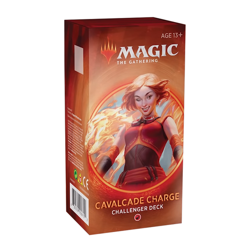Wizards of the Coast MTG: CHALLENGER 2020 - CAVALCADE CHARGE - RED
