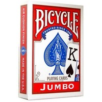 BICYCLE POKER RED JUMBO