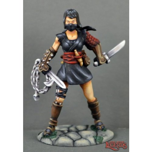 Reaper Miniatures DARK HEAVEN LEGENDS: KIRI, FEMALE NINJA