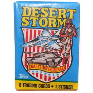 Topps DESERT STORM CARDS