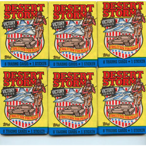 Topps DESERT STORM VICTORY CARDS