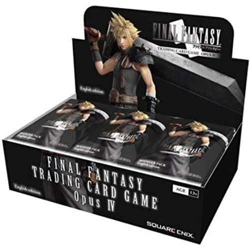 Square Enix FF TCG OPUS IV BOOSTER