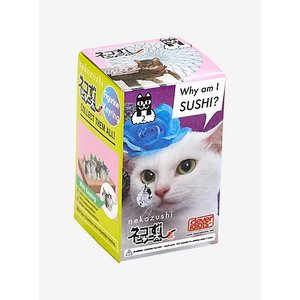 CLEVER IDIOTS INC BLIND BOX CAT SUSHI KEYCHAIN 2