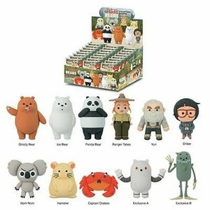 Monogram International BLIND BOX: WE BARE BEARS - FOAM KEY RING