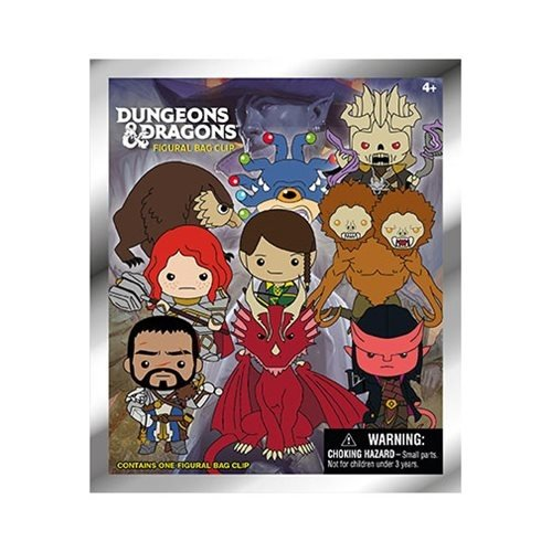Monogram International BLIND BOX: D&D - SERIES 1 BAG CLIP