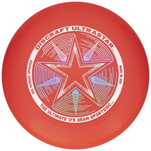 Discraft ULTRA STAR RED BRIGHT