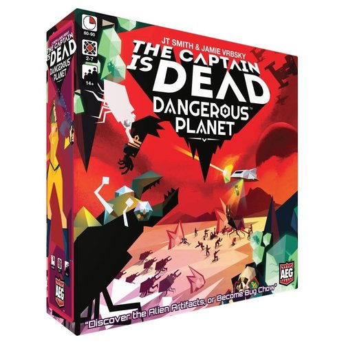 Alderac Entertainment Group THE CAPTAIN IS DEAD: DANGEROUS PLANET