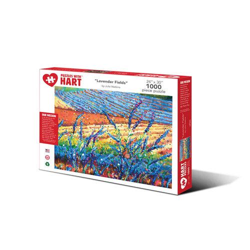 Hart Puzzles HA1000 LAVENDER FIELDS