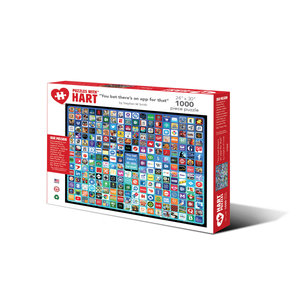 Hart Puzzles HA1000 YOU BET THERE'S AN APP FOR THAT!