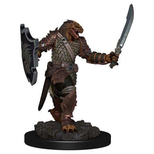Wizkids MINIS: ICONS OF THE REALMS: DRAGONBORN FEMALE PALADIN