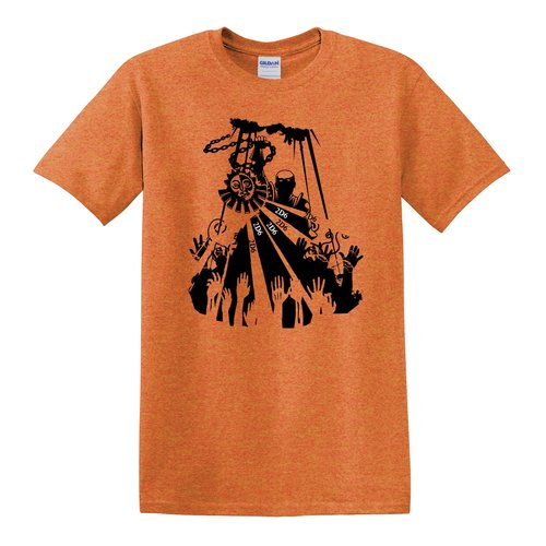 JBM PRESS T-SHIRT TURN UNDEAD (RPG Design)