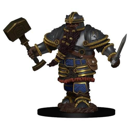 Wizkids MINIS: ICONS OF THE REALMS: DWARF MALE FIGHTER