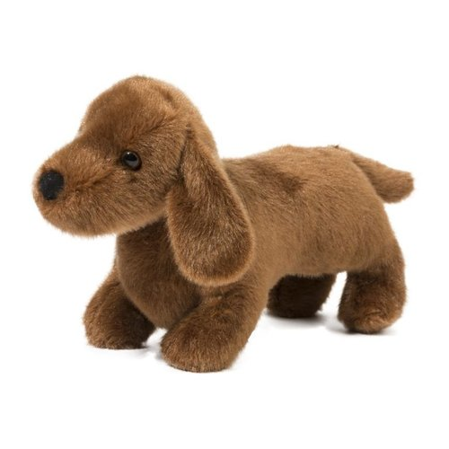 """Douglas Cuddle Toys DOG DACHSHUND DILLY 8"""""""