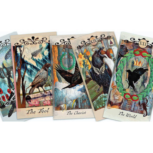US GAMES SYSTEMS TAROT CROW